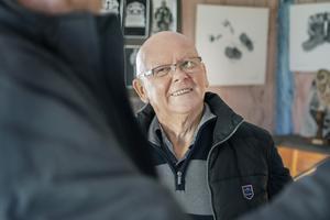 Erik Hildingsson blev inspirerad av pappans fotograferande. Som vuxen startade han Alfta-Edsbyns fotoklubb.