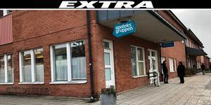 Vårdcentralen och apoteket höll stängt efter att man fått in ett misstänkt fall av coronasmitta.