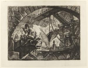 Tionde gravyren i Giovanni Battista Piranesis serie