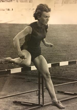Inga-Britt Lorentson, IFK Västerås, 1959.