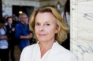 Marie Göranzon berättar i TV4 att hon ofta varit rädd på teatern. Foto Christine Olsson / SCANPIX