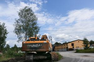 Miljöåtervinningsföretaget ligger vid Laxå bruk. Arkivbild.