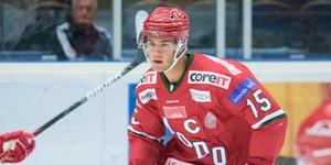 Anton Gradin kommer att spela sju matcher för SSK. Forwarden är utlånad från Modo fram till den 14 februari.
