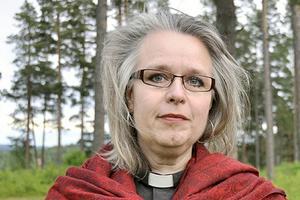 Åsa Carmesund, kyrkoherde i Åhls församling i Insjön, Leksands kommun.
