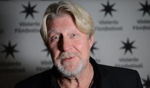 Rolf Lassgård tog emot Västerås Filmfestivals hederspris 2018. Bild: Fabian Zeidlitz