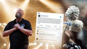 Bandet vädjar efter ett nytt gig på Facebook. Bilder: Therese Ny och Pär Helander/arkiv
