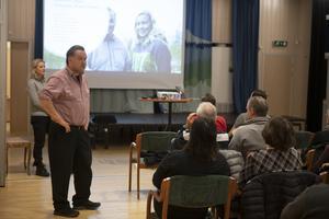 Idre Himmelfjälls VD Torbjörn Wallin informerar om planerna för den alpina satsningen.