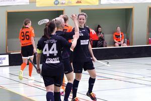 Anneli Kangas satte 2–1 målet.