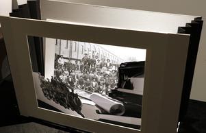 Museets miniteatervariant bygger på gamla fotografier från bruket.