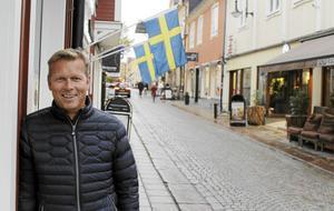Anders Eriksson är en tvättäkta rospigg och en känd profil i Norrtälje. Med sitt engagemang vill han ge tillbaka något till staden som gett honom så mycket.