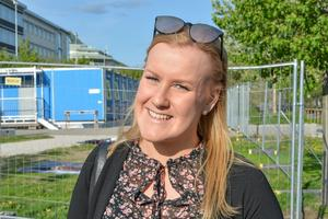 Erika Eriksson, 26 år, sjuksköterska, Sundsvall: