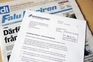 Konkurrensverket vill veta om landstinget upphandlat ambulansflygtjänster i strid mot LOU, lagen om offentlig upphandling.