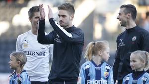 Johan Mårtensson är nära en kontraktsförlängning med ÖSK, bekräftar klubbens manager Axel Kjäll.