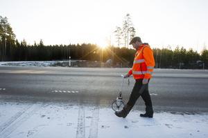 Anders Eriksson från E&K Trafiksäkerhet AB.