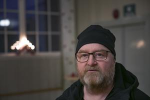 Roger Hansson är ordförande i bygdegårdsföreningen. En av de starka krafterna i byn.