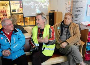 Stefan Sundström har besökt ockupationen fler gånger.