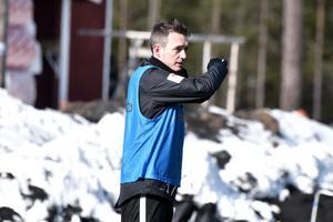 Daryl Smylie på långfredagens träning.