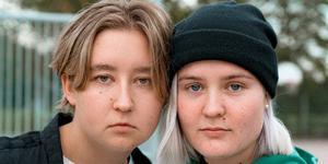 Hilda Björkman och Kim Norrstrand är frontpersonerna i Upplopp.
