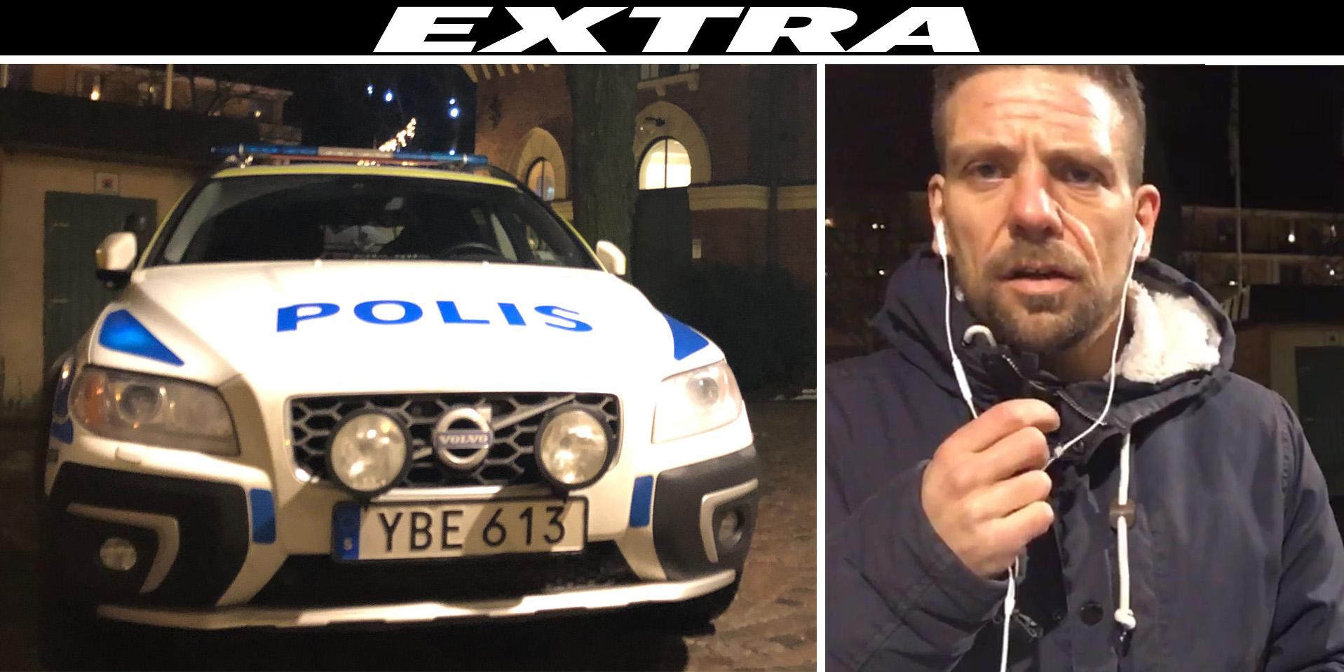 Polisen forhor busschaufforer