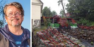 Det som är grönstreckat är det som ska tas bort enligt förslaget från Naturvårdsverket, det i rött är sådant som inte ska tas bort, men som ur ett ensidigt naturvårdsperspektiv skulle tas bort. Vilket inte någon vill, vare sig Naturvårdsverket eller Älvräddarna, skriver Christer Borggeneralsekreterare Älvräddarnas Samorganisation