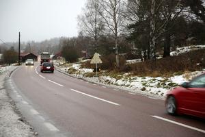 E 45 mellan Vattnäs och Trunna. Fel ställe och för dyrt anser byföreningen.