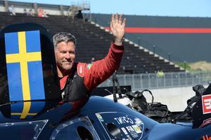 Micke Larsson, Gävle, har aviserat att han kommer att köra hela EM-serien i år.