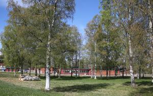 Här vid Morkarlby skola i Mora kommer den nya resursskolan att ligga i en del av den befintliga skolan.