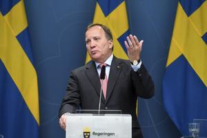 Stefan Löfven (S) statsminister. Foto: Fredrik Sandberg
