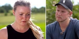 Caroline Karlsson från Härnösand fick lämna bonden Eriks gård i veckans avsnitt. Foto: TV4