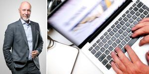 Kenneth Norberg tycker att digitaliseringen är viktig eftersom den har en övergripande funktion som går igenom alla verksamheter.