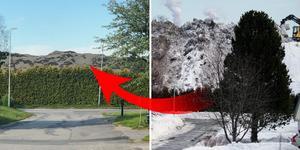 Den 25 mars var snöhögen i Sund över 15 meter hög. Frågan är när den kommer att smälta bort helt?