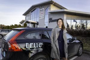 Helena startar eget och har skaffat ett fint kontor vid Tallen-området. Foto: Bengt Pettersson