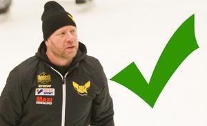 Sportchefen Patrik Zetterberg har kapital för att kunna värva ytterligare under säsongen.