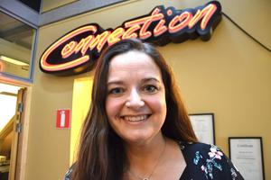 Susanne Larsson Byström, vd för Swedish Connection, Sundsvall.
