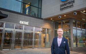 Michael Andersson är förenings- och anläggningschef på kultur- och fritidskontoret i Södertälje kommun.