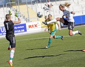 Målfarlig. Wegerman har gjort 13 mål denna säsong.FOTO: ANDERS FORNGREN/ARKIV