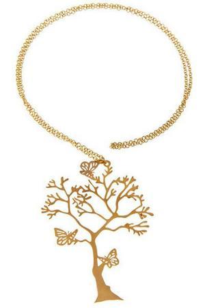 Halsbandet ingår i kollektionen Skog.