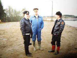 Ulf Jonson, Lennart Olsson och Åke Wiklund samarbetade under många år, bland annat efter de stora översvämningarna 1985 och 1986.