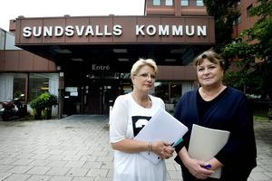 De medicinskt ansvariga sjuksköterskorna i Sundsvalls kommun, Kerstin Nohrstedt och Gurli Edlund, berättar om en krisartad situation för patientsäkerheten under sommaren.