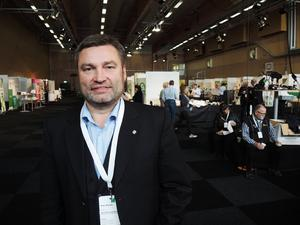 Centerpartiets länsordförande Peter Helander.