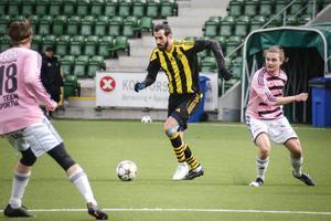 Ahmad Khreis gjorde Kubens första mål borta mot Spöland Vännäs.