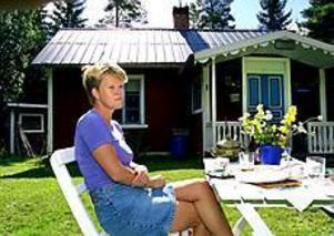 Foto:LEIF JÄDERBERG Finner lugnet. Ulla Andersson kan koppla av vid sitt skogstorp.