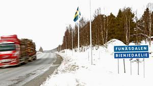 Eva-Lottta Lundin säger att få i Funäsdalen vill jobba inom vården.
