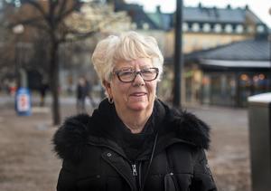 Lisbeth Lindahl, 74, pensionär, Sundsvall.