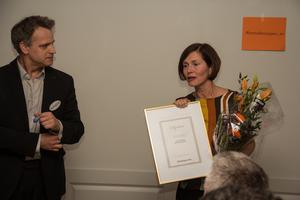 I april fick Wenche Engström ta emot priset som årets innovationsföretag i Skinnskatteberg under företagsgalan.
