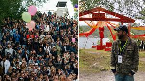 Den nya festivalen, Bleck Forest Festival, inspirerades av Gagnef. Bilden är ett montage. Foto: Per Bifrost/Privat