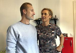 Sin stora kärlek Fredrik, träffade Ulrika på Facebook.