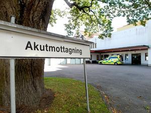 De som har svårt att ta sig till akutmottagningen ska inte behöva ta sig dit. Arkivfoto: Anne-Marie Nenzell