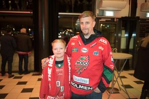 Joel och Kenneth Åberg.