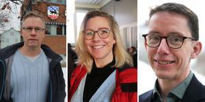 Bilder: Elliot Morseth Edvinsson / Bräcke kommun. Jörgen Persson (S), Theresa Flatmo (C), Johan Loock (M).
